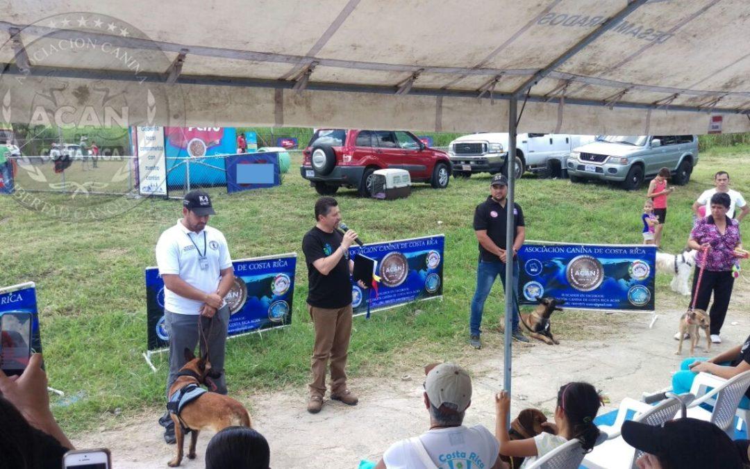 ACAN avala e inaugura el Parque Canino más grande de Costa Rica