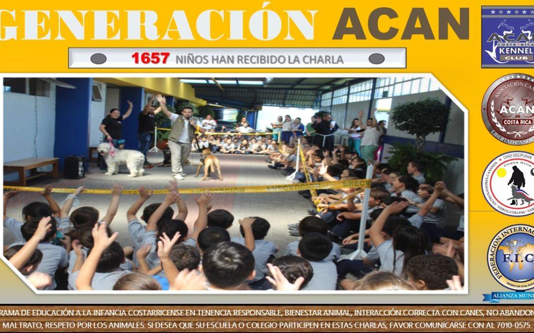 """""""Generación ACAN""""… creciendo en Costa Rica"""